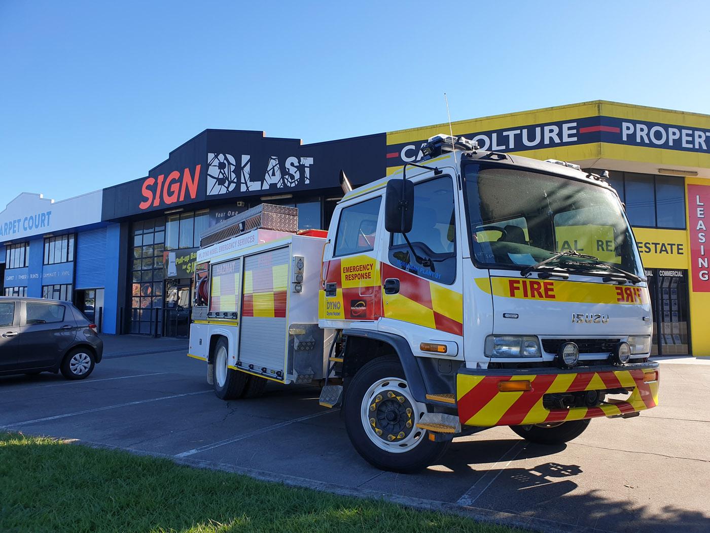 Isuzu-Fire-Truck