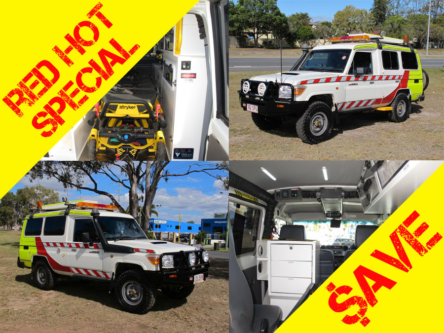 2012 Troopcarrier FULL Ambulance fitout