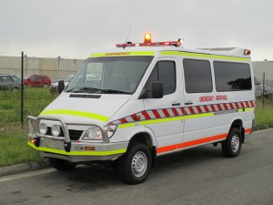 Mercedes Sprinter 314 4X4 Ambulance - Fire Trucks Australia
