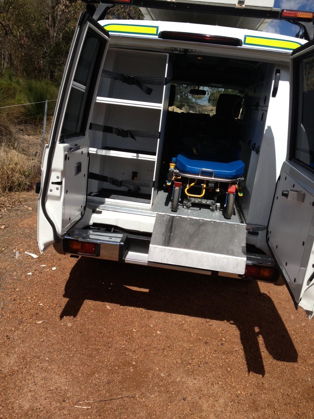 TROOPY RTWS – Troop Carrier 4X4 Ambulance