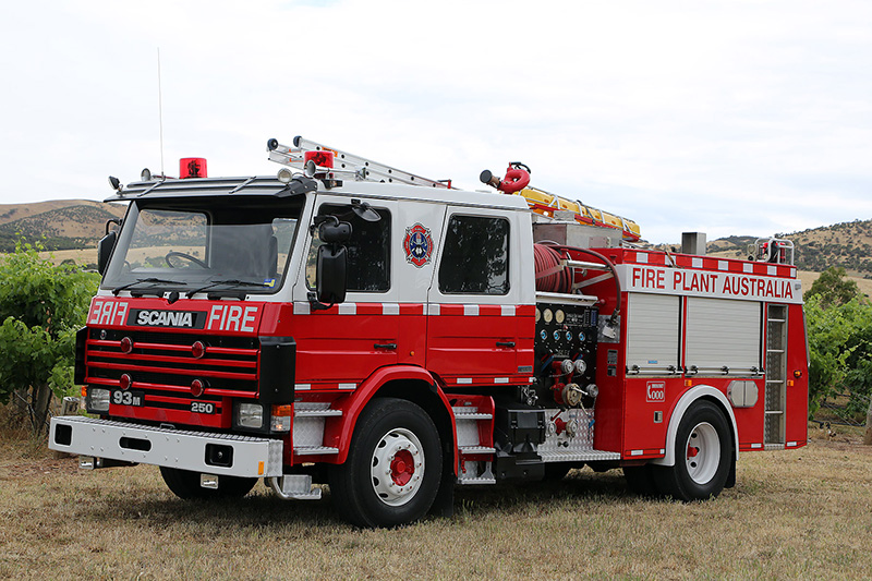 Scania Scheduler Fire Truck