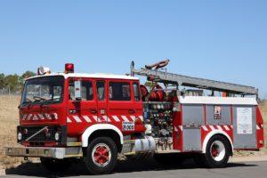 VOLVO FIRE PUMPER EX South Australian Metropolitan Fire Service 1984 diesel automatic