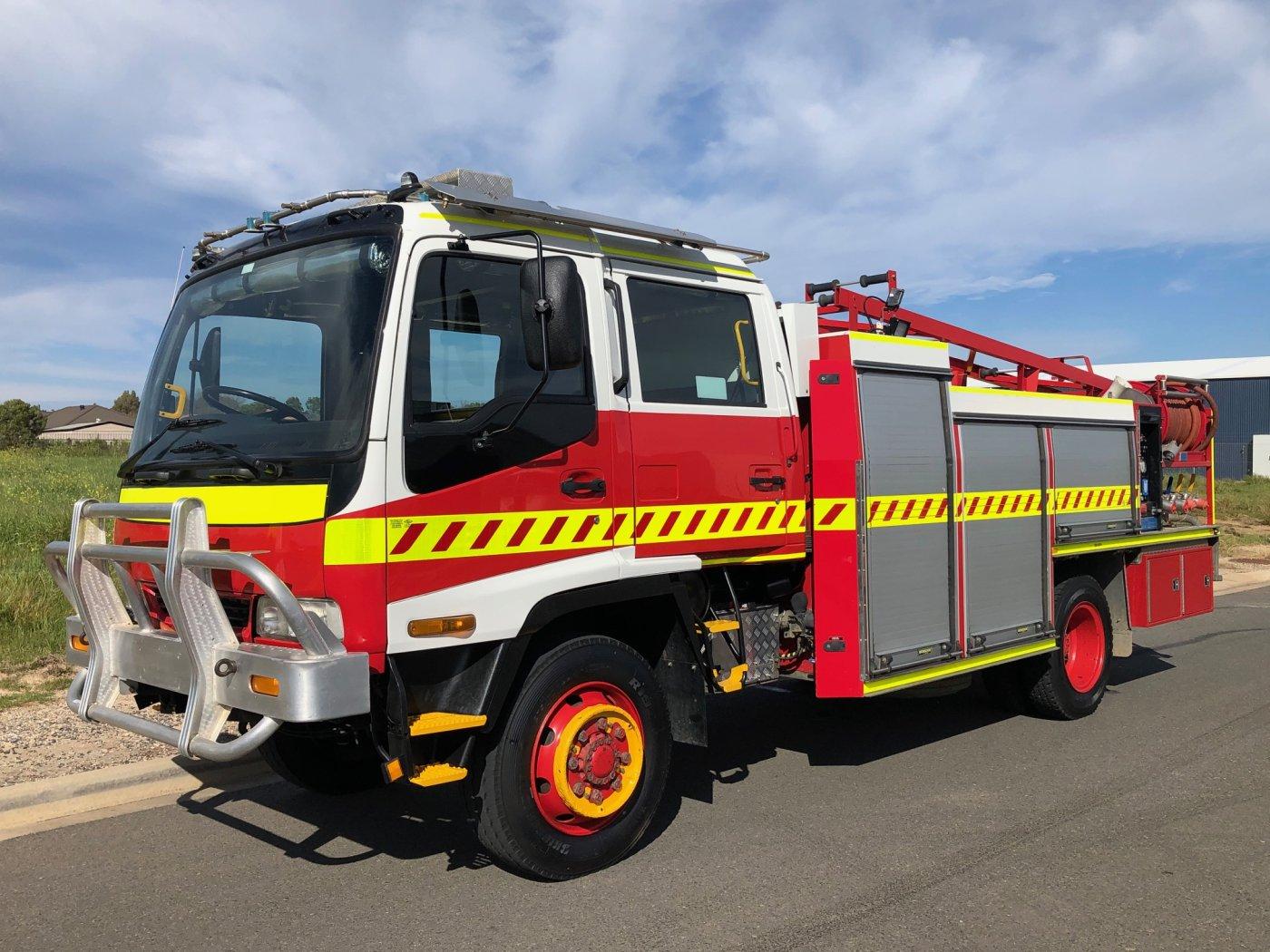 ISUZU 0001 4x4 featured fire truck