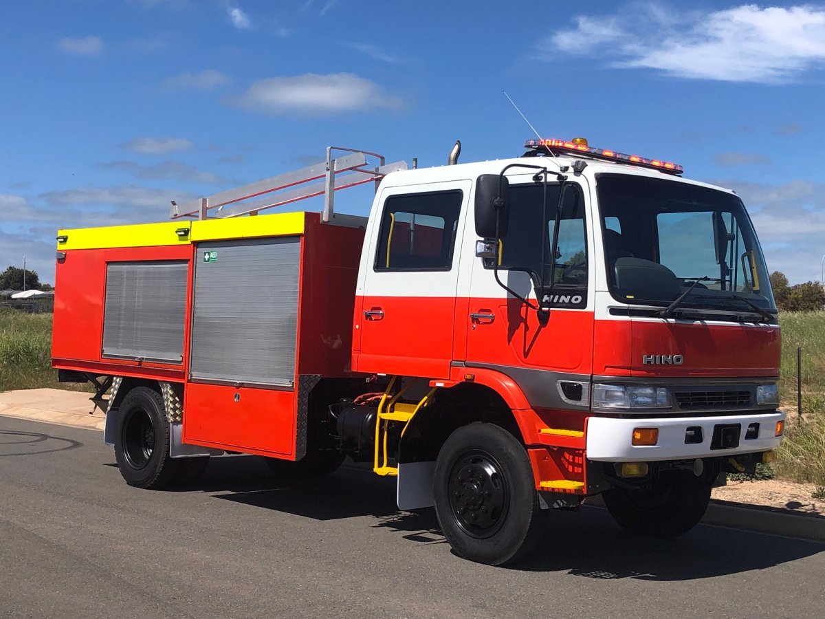HINO 0033 Featured Fire Truck For Sale